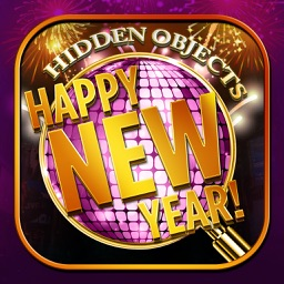 Happy New Year Countdown - Hidden Object Spot and Find Objects Differences Winter Game