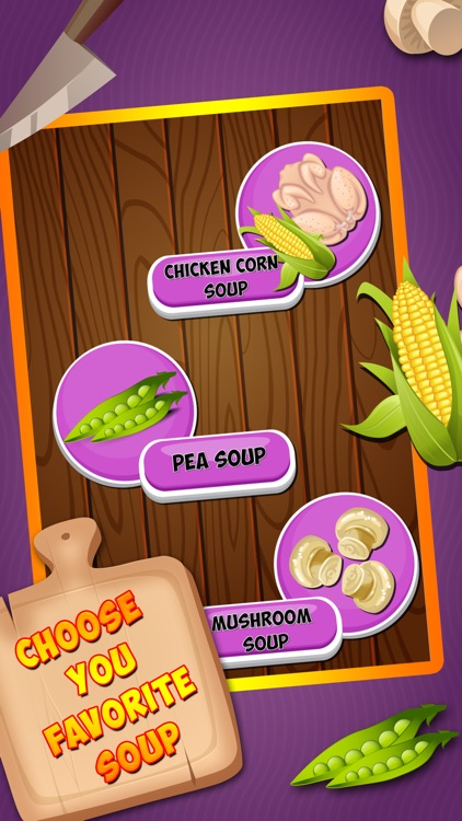 Soup Maker : free Girls Kids fun Cooking game for pizza,burger & sandwich lovers screenshot-3
