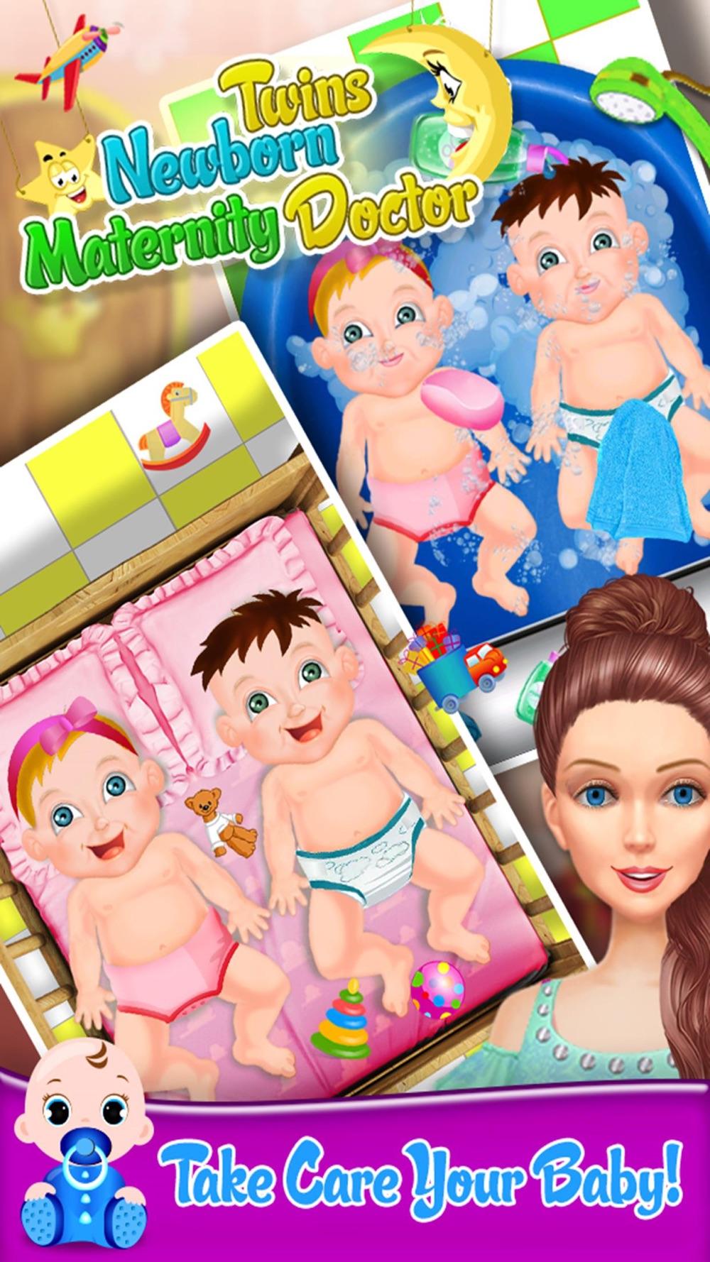 Newborn Twin Baby Maternity Doctor Free Kids Games Cheat Codes