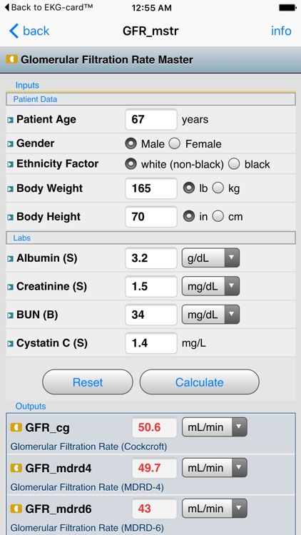 NephroCalc™ screenshot-1