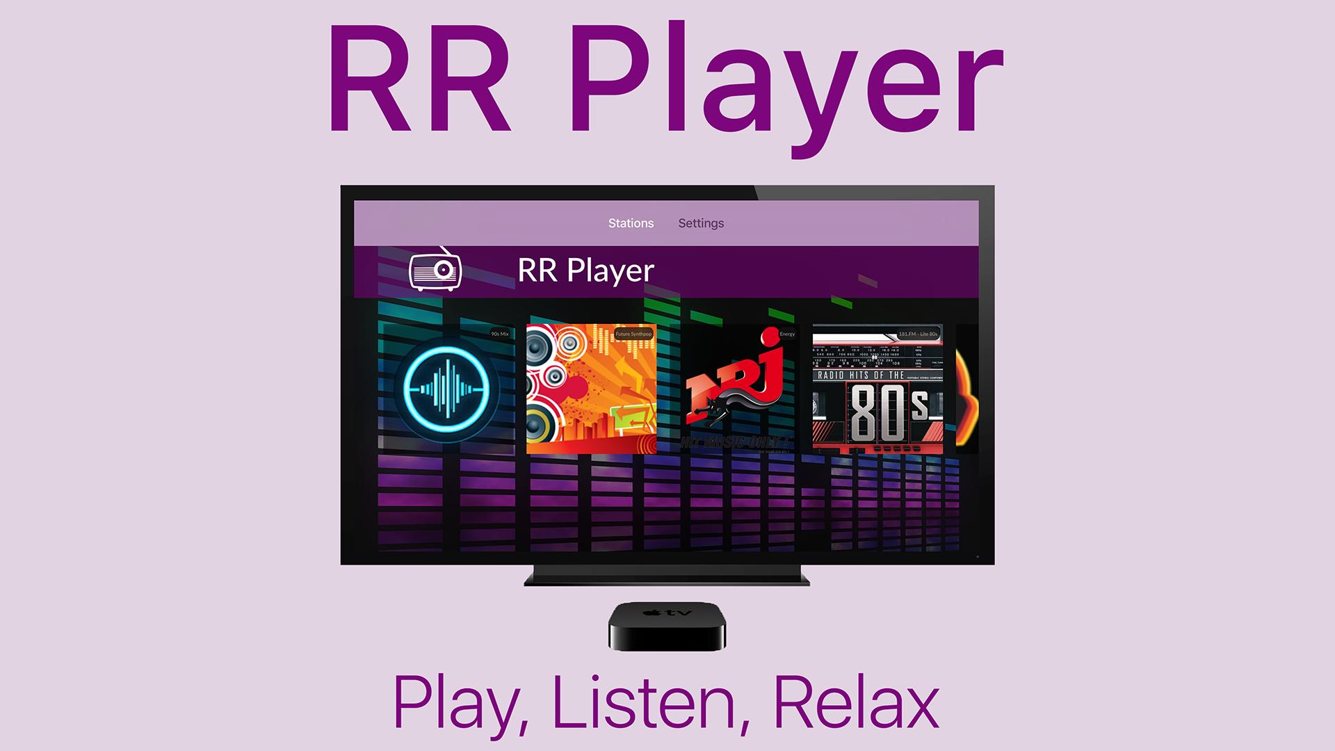 RR Player screenshot 1