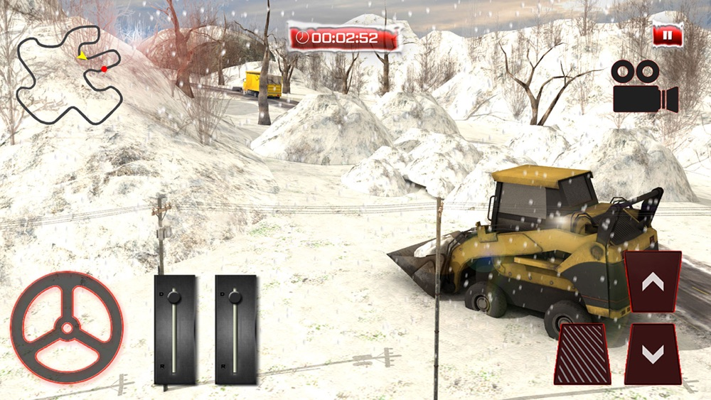 Snow Plow Rescue Truck Driving 3D Simulator hack tool