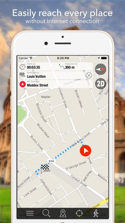 Corse Offline Map Navigator and Guide screenshot-3