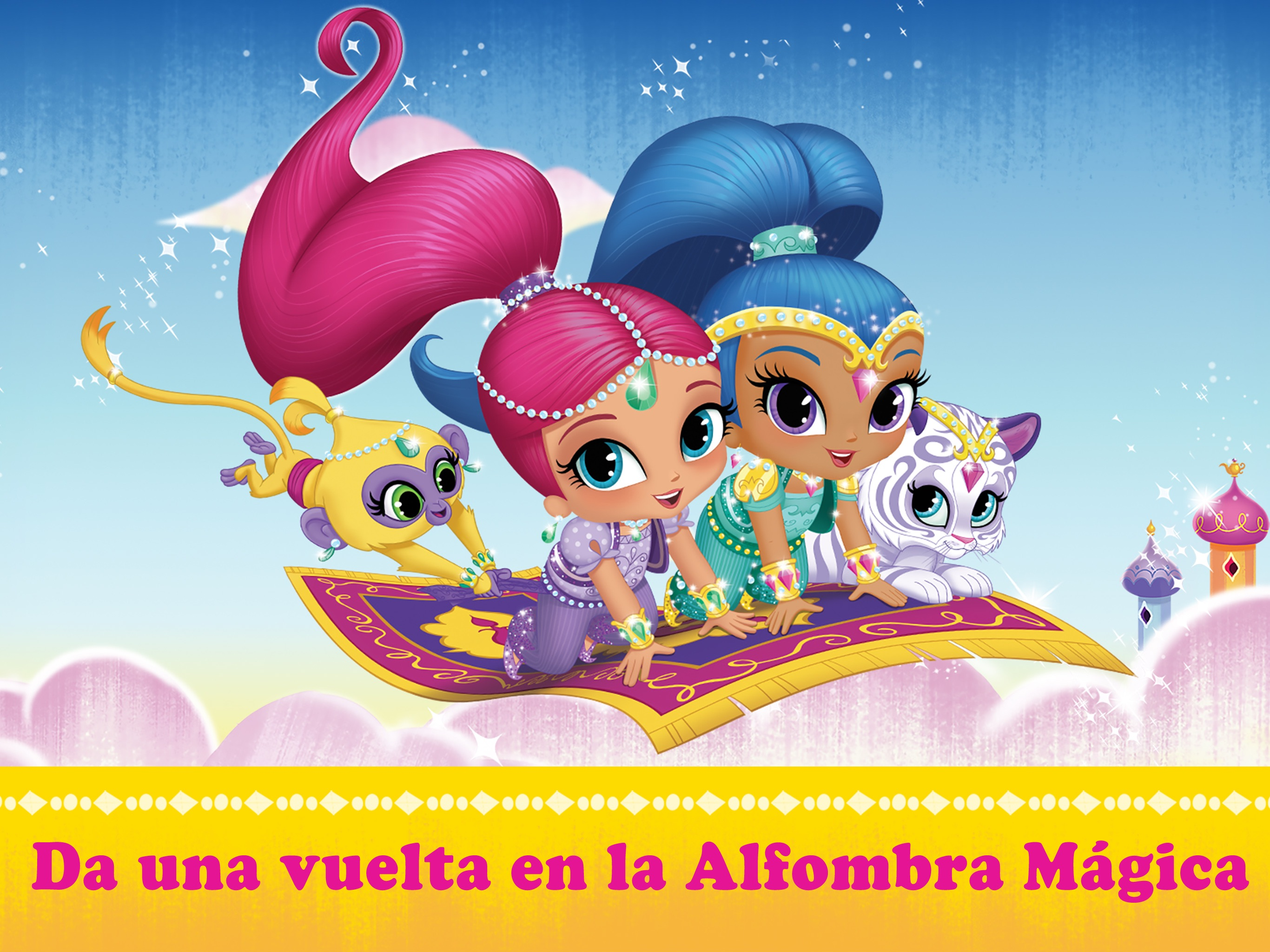 Shimmer y Shine: La Alfombra Mágica HD Screenshot