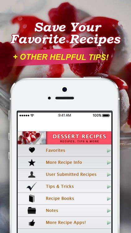 Dessert Recipes! screenshot-3
