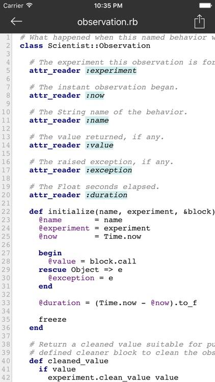 CodeHub - A Client for GitHub screenshot-4
