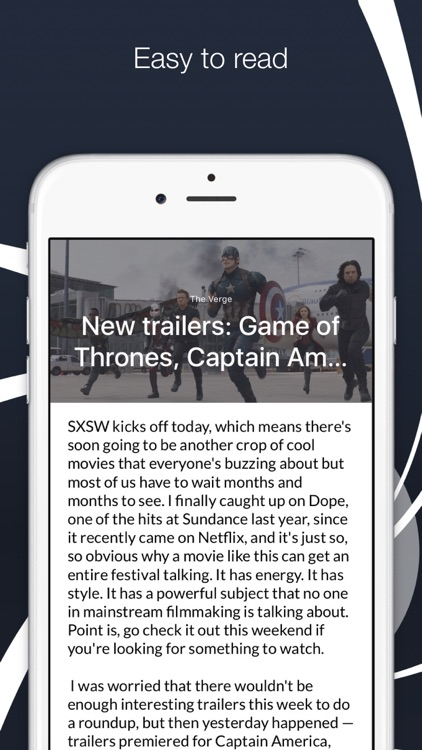 "Newspot - Your Wonderful News & RSS Feed Reader ""for Apple Watch and iPhone"""