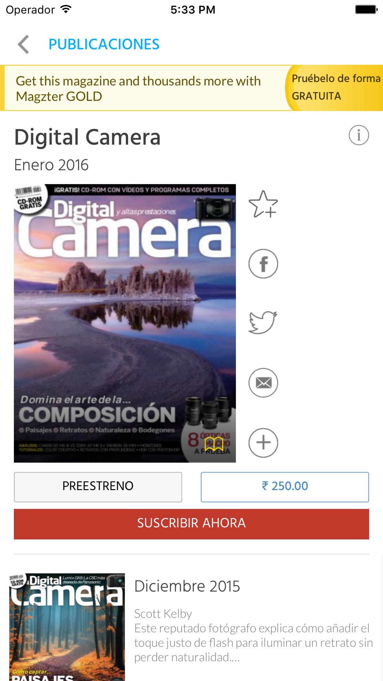 Magzter- Tienda de Revistas Screenshot