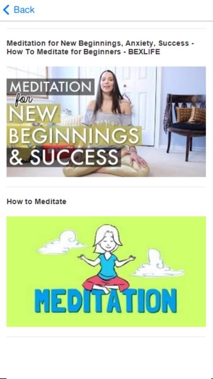 Meditation for Beginners - Learn How to Meditate screenshot-4