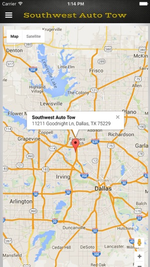Southwest Auto Tow >> Swat App Southwest Auto Tow On The App Store