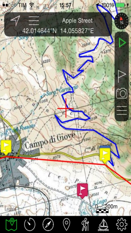 OkMap Mobile, an off road GPS navigator for your sport activities