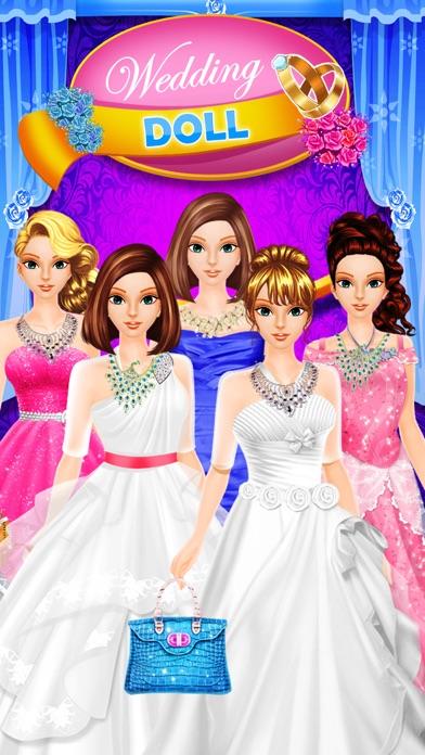 Wedding Doll - Dress Up & Fashion Games screenshot one