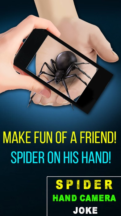 Spider Hand Camera Joke Screenshot on iOS