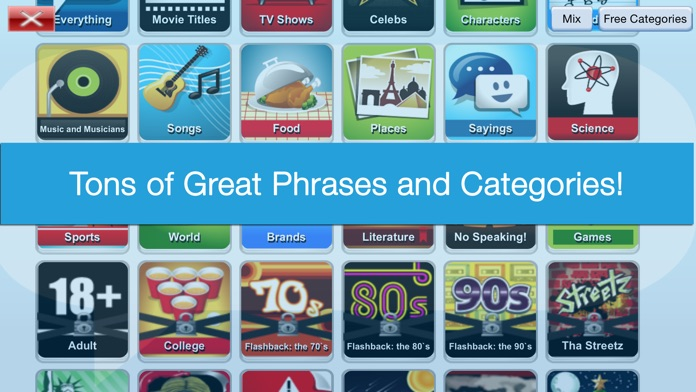 Phrase Party! Free Screenshot