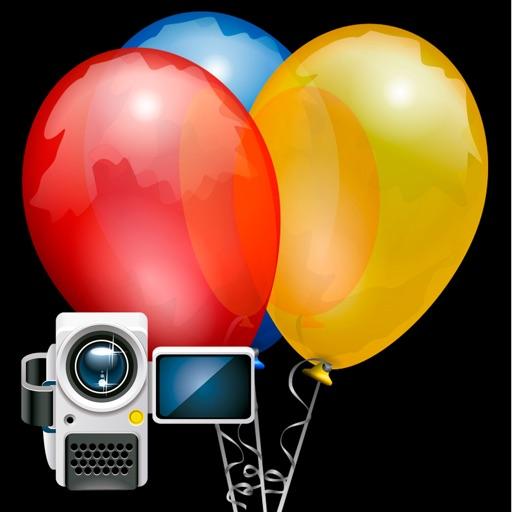 Happy Birthday Videos HBV - Video dubbing to congratulate your friends iOS App