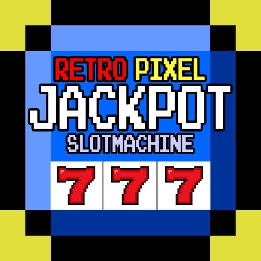 Free Retro Pixel Slot Machine