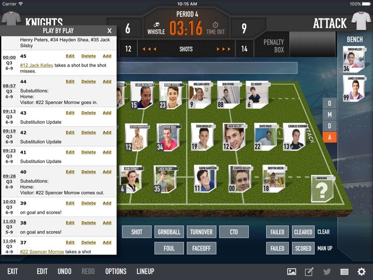 iScore Lacrosse Scorekeeper screenshot-3