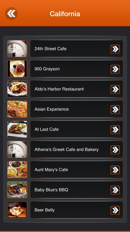 Great App for Diners Drive-ins & Dives Locations screenshot-2