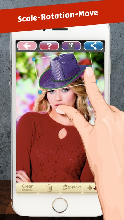 Hat Booth - Funny your photo screenshot-3