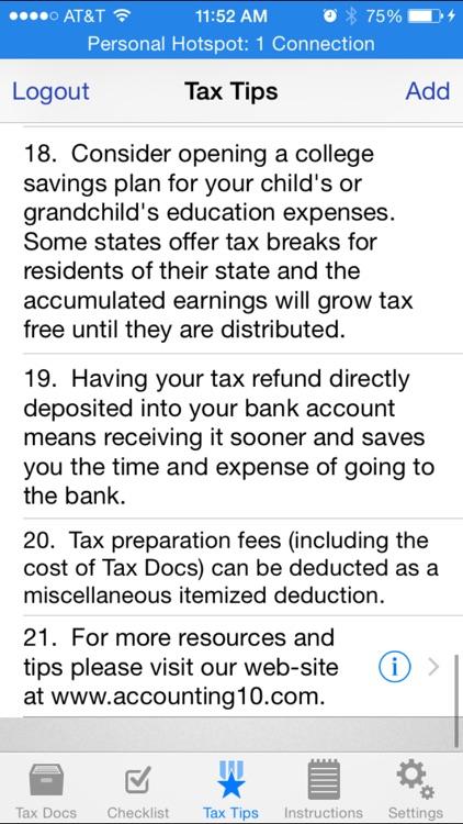 Tax Docs screenshot-4