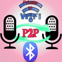 iP2pVoiceChat - (bluetooth | Wifi)