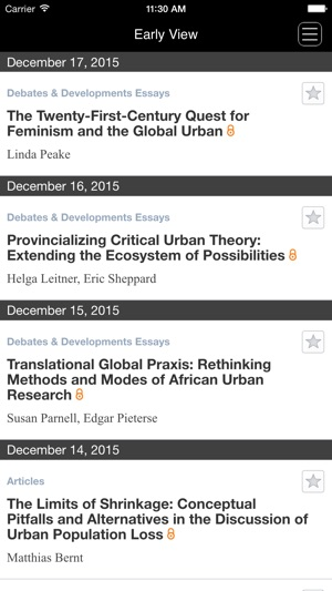 International Journal of Urban and Regional Research on the