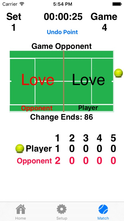 Tennis Score Addict - Keep Score And Hear The Score Without Picking Up Your Device! screenshot-4