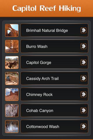 Hiking in Capitol Reef National Park screenshot 2