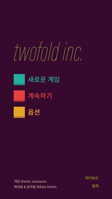 Screenshot for twofold inc. in Korea App Store