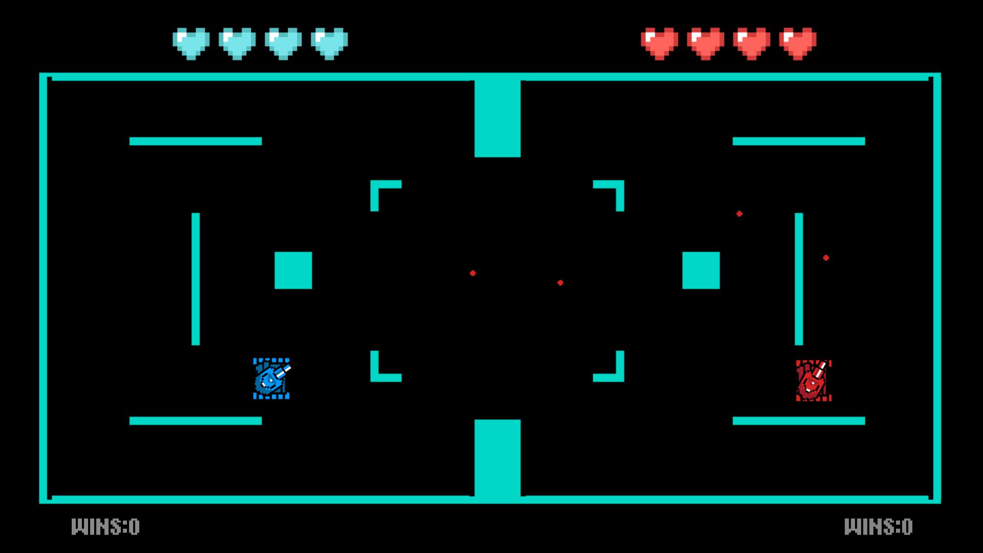 Tank Battle - 2 Player Classic Arcade Game screenshot 2