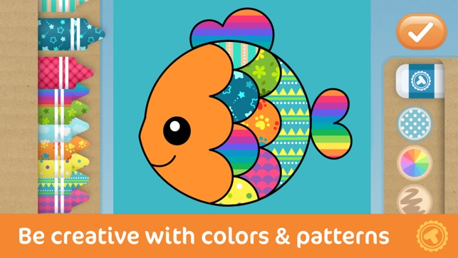 Toonia Colorbook - Educational Coloring Game for Kids & Toddlers on ...