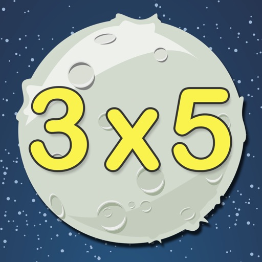 """Multiplications Asteroids HD - """"Math in Space"""" Learning Series"""