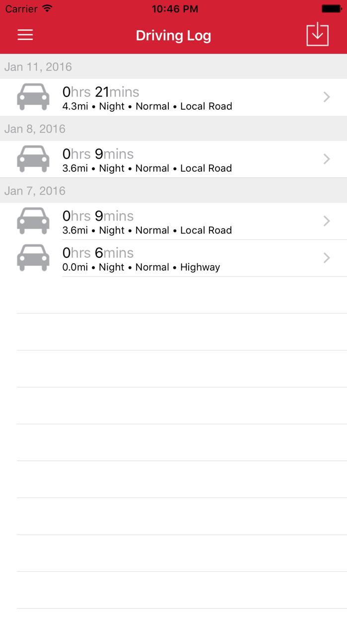 RoadReady Screenshot