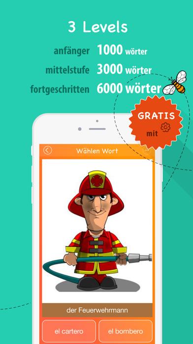 6000 Wörter - Spanische Sprache Lernen - KostenlosScreenshot von 3