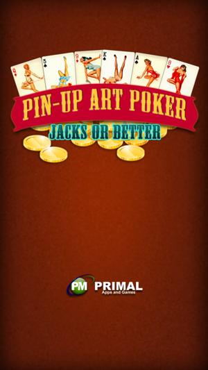 ‎Pinup Art Video Poker - Jacks or Better Screenshot