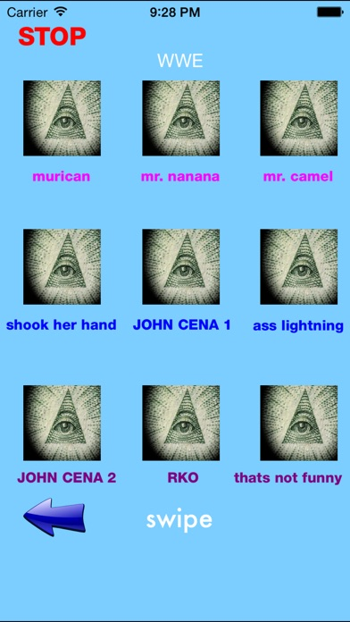Screenshot #5 for Illuminati Soundboard