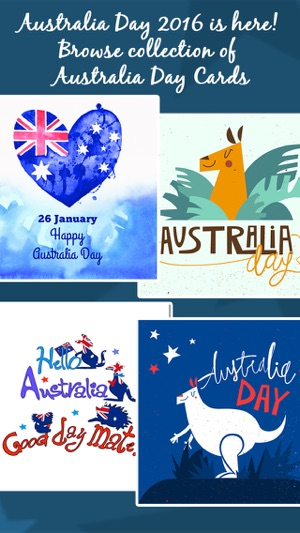 Australia day cards greetings on the app store screenshots m4hsunfo