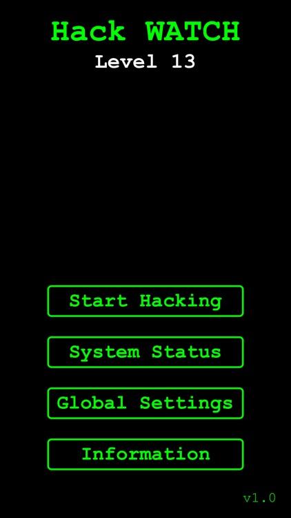 Hack WATCH