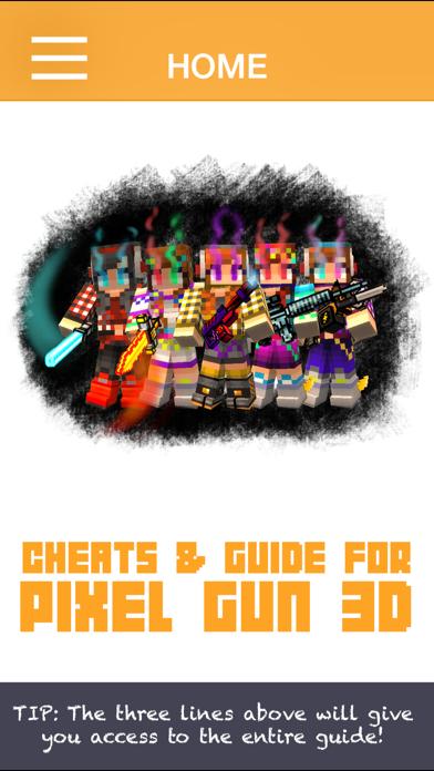 Companion Guide For Pixel Gun 3D screenshot one