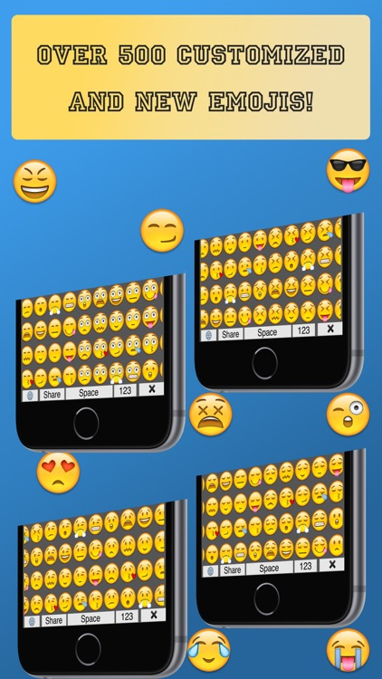 Many Emojis - Best Emoji Keyboard With Extra and New Emojis