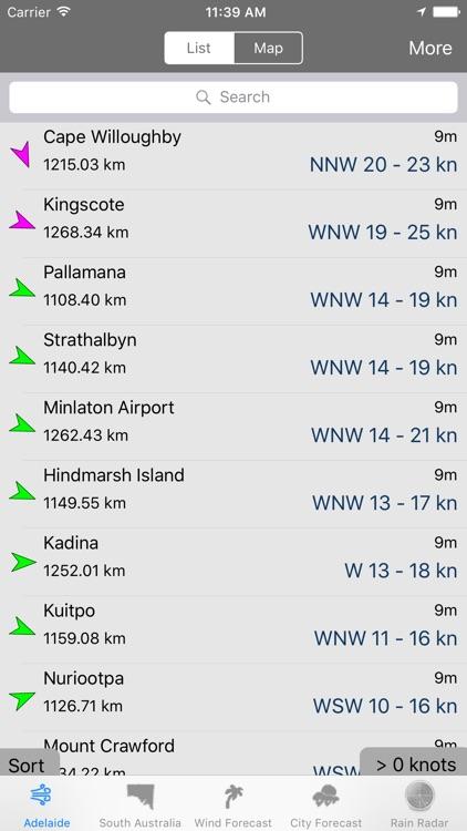 AdelaideWinds screenshot-4