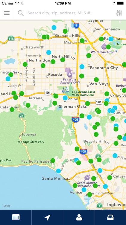 Corona Home Finder App