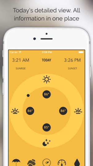 Meteo - Just Weather Forecast Screenshot