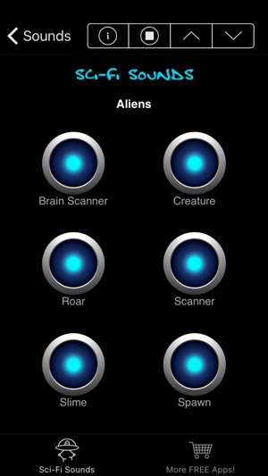 Sci-Fi Sounds & Noises on the App Store