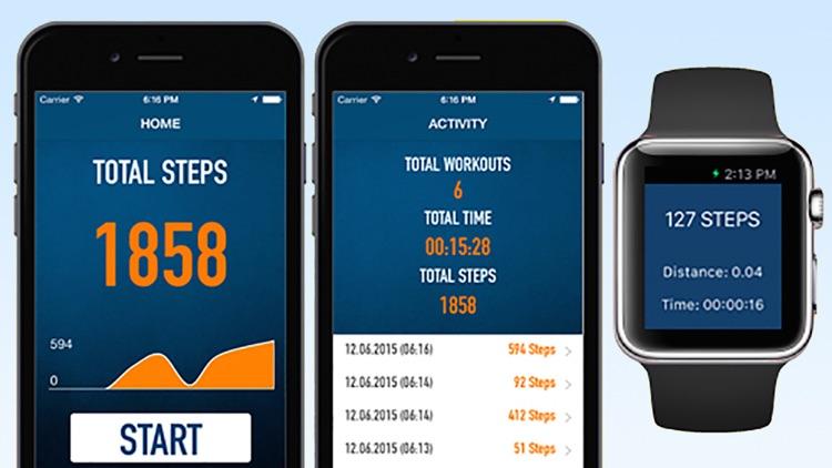Pedometer Step Counter - Walking Running Tracker screenshot-4