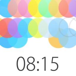 relax alarm clock with seconds -TOKITAMA-