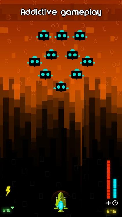 Radiant Fighter - Free Galaxy Wars & Alien Invasion Game screenshot-3