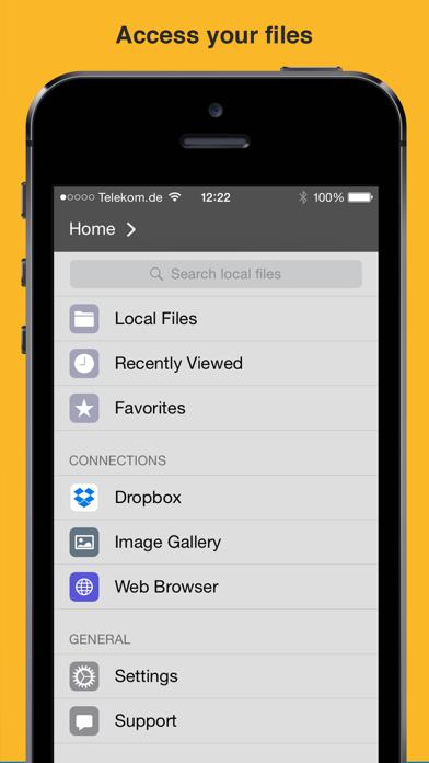 File Manager App screenshot four