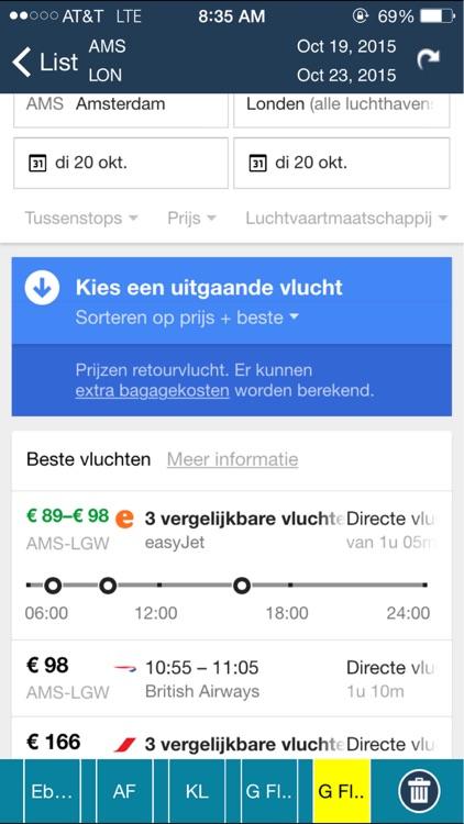 Amsterdam Airport (AMS) Flight Tracker Schiphol screenshot-3