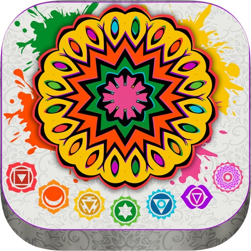Mandalas coloring book – Secret Garden colorfy game for adults